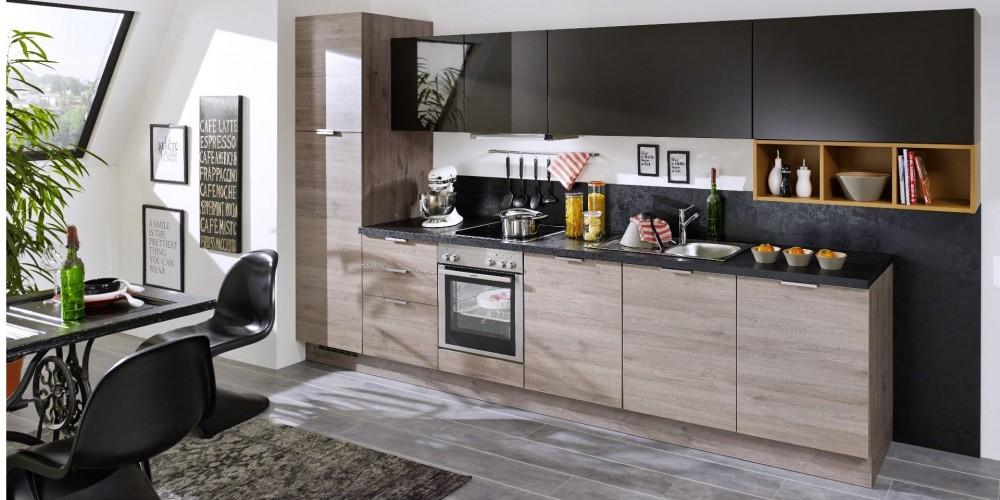 Küche grau mit holz  Möbel Windhaus GmbH - Sortimente