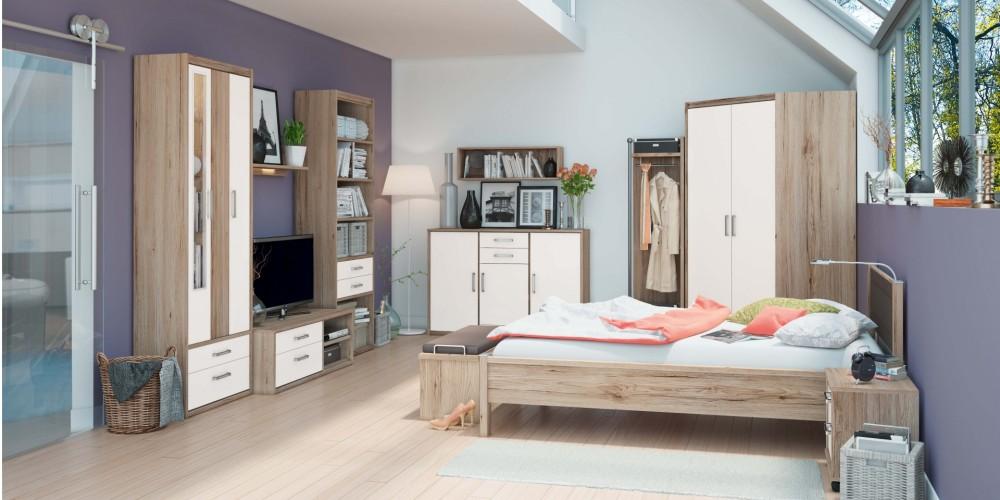 M belhaus arno dietz e k wohnbereiche for Jugendzimmer mit gastebett